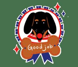 Red Nose Dog sticker #15823838