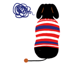 Red Nose Dog sticker #15823839