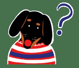 Red Nose Dog sticker #15823840