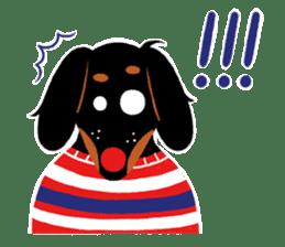 Red Nose Dog sticker #15823841