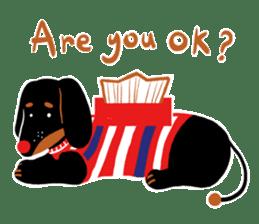 Red Nose Dog sticker #15823842