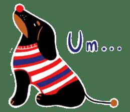 Red Nose Dog sticker #15823844