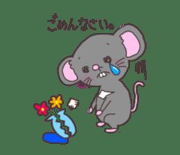 rat and monkey sticker #15826197