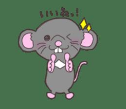 rat and monkey sticker #15826199