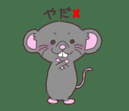 rat and monkey sticker #15826201