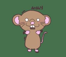 rat and monkey sticker #15826202