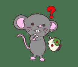 rat and monkey sticker #15826203