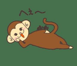 rat and monkey sticker #15826205