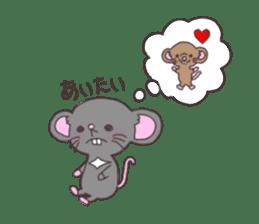 rat and monkey sticker #15826207