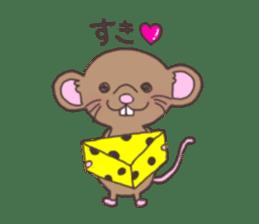 rat and monkey sticker #15826208