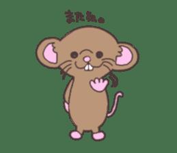 rat and monkey sticker #15826212