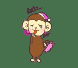 rat and monkey sticker #15826213