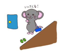 rat and monkey sticker #15826215