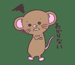 rat and monkey sticker #15826216