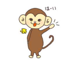 rat and monkey sticker #15826218