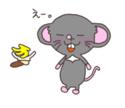 rat and monkey sticker #15826219