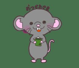 rat and monkey sticker #15826227