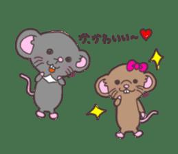 rat and monkey sticker #15826228