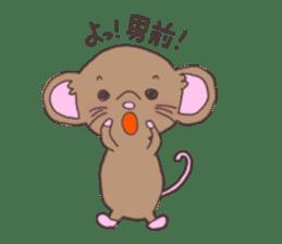 rat and monkey sticker #15826229