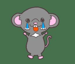 rat and monkey sticker #15826231
