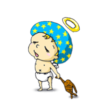 messenger of a god Angel silent ver. sticker #15826404