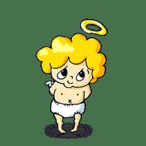 messenger of a god Angel silent ver. sticker #15826423