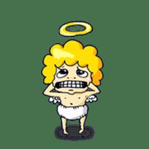 messenger of a god Angel silent ver. sticker #15826424
