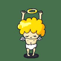 messenger of a god Angel silent ver. sticker #15826434