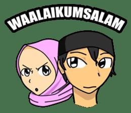 akhi and ukhti sticker #15834638