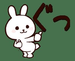Cute Rabbit(Animated) sticker #15836242