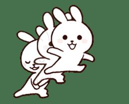 Cute Rabbit(Animated) sticker #15836243