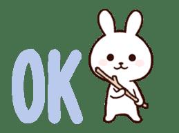 Cute Rabbit(Animated) sticker #15836247