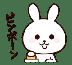 Cute Rabbit(Animated) sticker #15836254