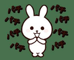 Cute Rabbit(Animated) sticker #15836257