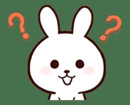 Cute Rabbit(Animated) sticker #15836262