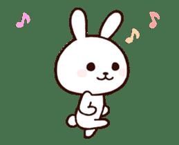 Cute Rabbit(Animated) sticker #15836265