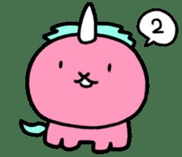 Pastel's unicorn sticker #15837048