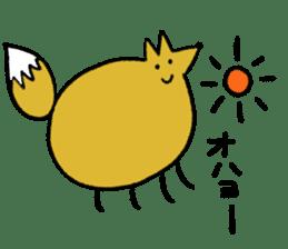 Fox's Tokki sticker #15847538