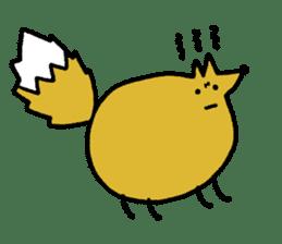 Fox's Tokki sticker #15847547