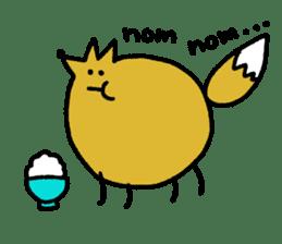 Fox's Tokki sticker #15847553