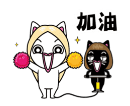 Silly Sisters by Agoamao sticker #15848557