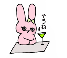 Usako's Otome tin sticker sticker #15850420
