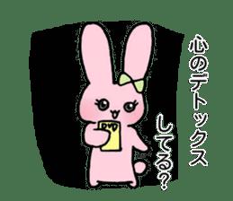 Usako's Otome tin sticker sticker #15850430