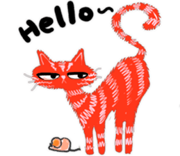 Double Cats sticker #15854163