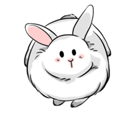 Mary & Rabbito sticker #15856907