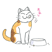 สติ๊กเกอร์ไลน์ FukuFuku the Happy Cat