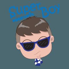 สติ๊กเกอร์ไลน์ SG superboy