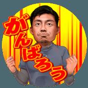 สติ๊กเกอร์ไลน์ TAKASHI TORITANI