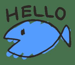 Creature of the aquarium sticker #15869490