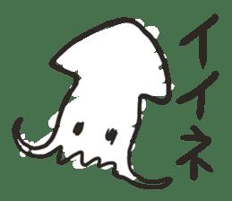 Creature of the aquarium sticker #15869491